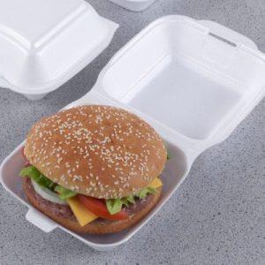 caserole din polistiren pentru burger