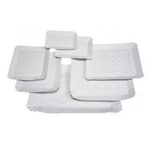 tavite din carton alb