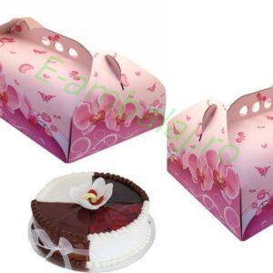 cutii tort imprimeu floral