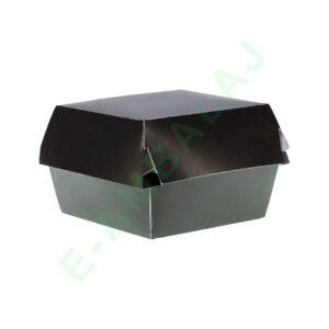 cutii pentru burger negre