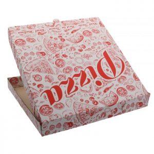 cutii pentru pizza albe