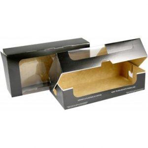 cutii din carton negru pentru prajituri