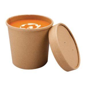 boluri din carton cu capac pentru supa