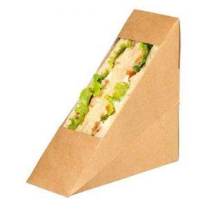 triunghi carton pentru sandwich