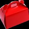 cutii prajituri rosii