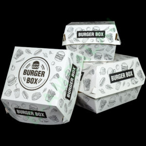 """cutii carton pentru burger """"city"""""""